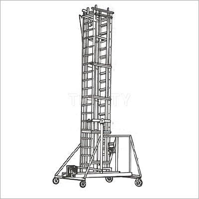 Aluminium Tilting Tower Ladder