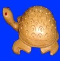 Wooden Tortoise Carven