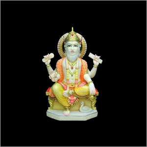 Lord Brahma Marble Statues