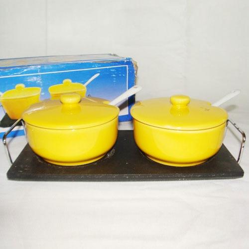 Ceramic Pickle Set