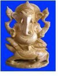GANESH SITTING OVAL SHAPE SPL