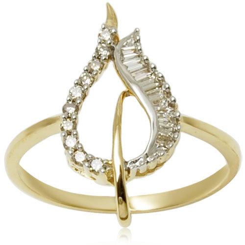 Light Weight Cheap Gold Ring