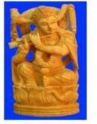 God Wooden  Figure