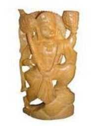 Wooden God Figures