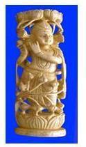 Wooden Statue Dodidar Figure
