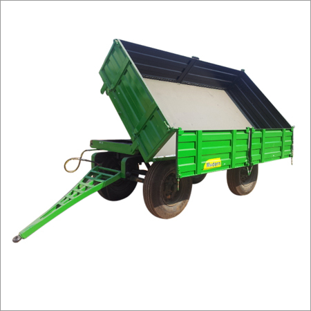 Four Wheel Side Tipping Trailer