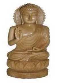 Handmade Wooden Buddha