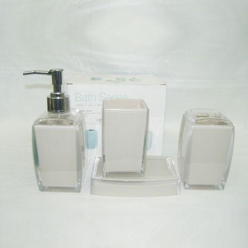 Acrylic Bathroom Set
