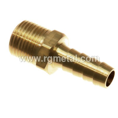 Industrial Brass Hose Nipple