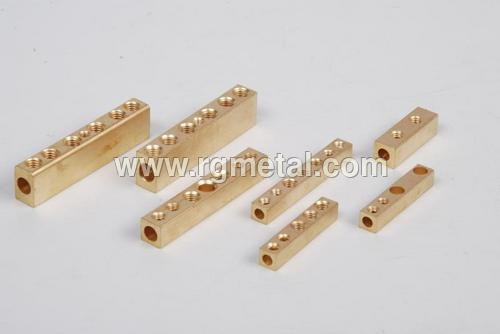 Brass Bar Connector