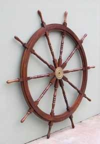 NAUTICAL WOODEN SHIP WHEEL  72