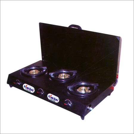 3 Burner Gas Stove Trangler with Lid