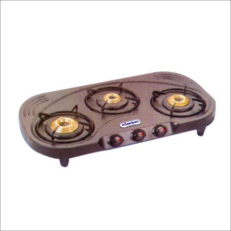 Three Burner Oval Gas Stove