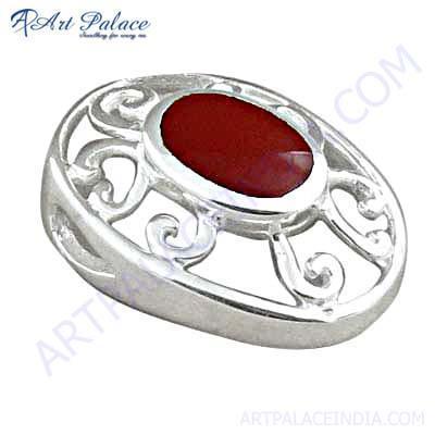 Indian Designer Synthetic Gemstone Pendant