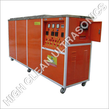Two Stage Ultrasonic Vapour Degreasing System
