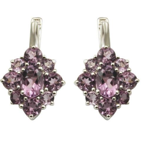 fanc Brazil 925 sterling silver earrings for girls