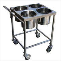 Four Vessel Trolley
