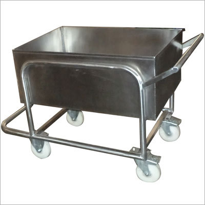 Soiled Dish Trolley Conteaner Type