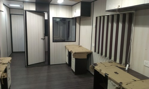 Designed Portable Cabin Interior