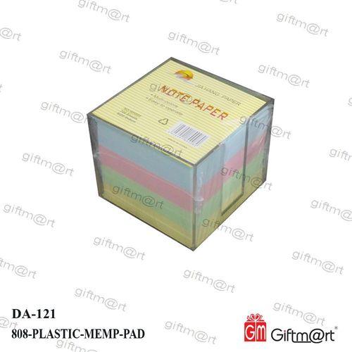 Plastic Cube memo Holder