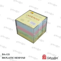Plastic Cube memo Holder
