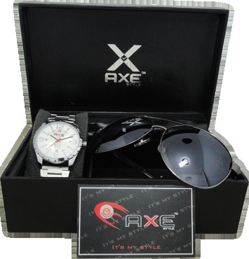Axe Wrist Watch & Shades