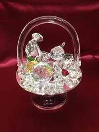 Glass Fruit table showpiece.