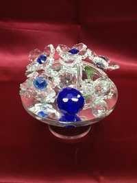 Glass Fruit table showpiece
