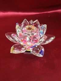 Glass Flower rose showpiece