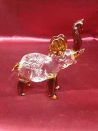 Glass Elephant Showpiece