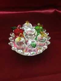 Glass Flower showpiece