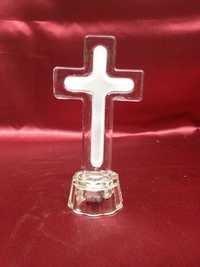 Glass Jesus Cross.