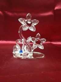 Glass Flower showpiece.