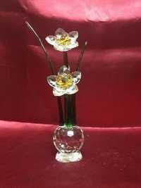 Glass Flower showpiece