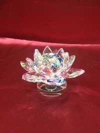 Glass Rose Showpiece