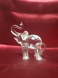 Glass Elephant Showpiece.