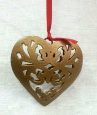 Christmas Hanging Heart