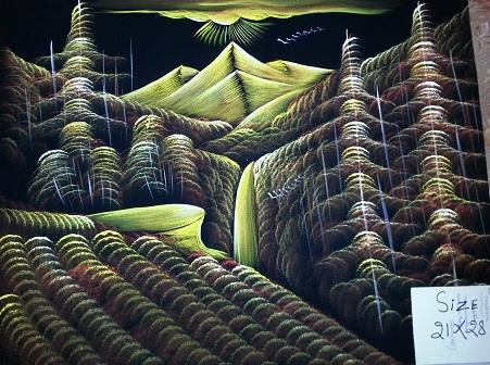 Natural scene paintings