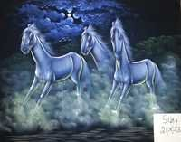 horse Natural paintings