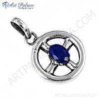 Newest Style Lapis Sterling Silver Pendant