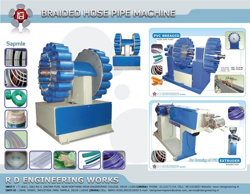Braided Hose Pipe Machine