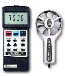 ANEMOMETER air flow + air velocity