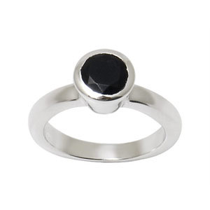 Pure silver ring for men, 925 silver ring with black stone, silver 925 new model ring