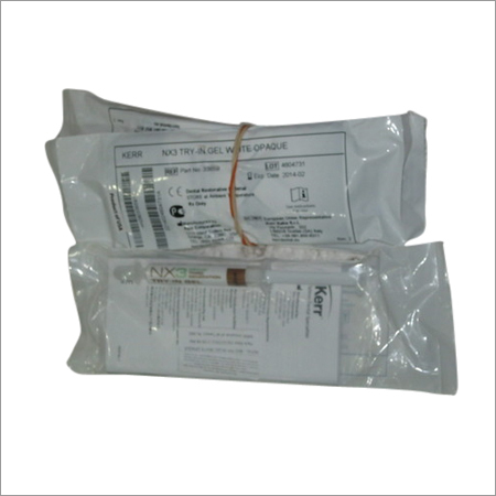NX3 - IN GEL White Opaque Refill