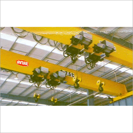 Single Beam E.O.T. Cranes
