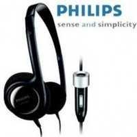 Philips Light Headphone Mic Vol Control