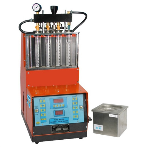 Injector Cleaning & Testing Machine