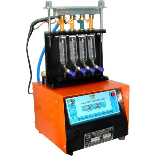 Petrol Injector Cleaning Machine