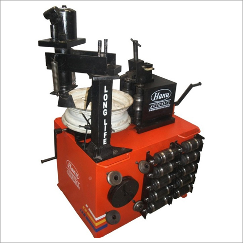 Automatic Rim Straightening Machine