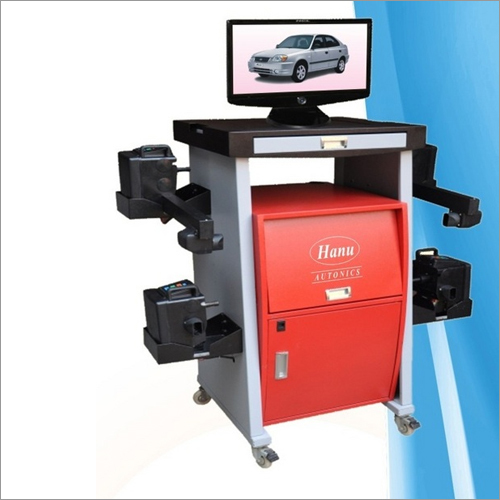 Wheel Alignment Machine RF Technology